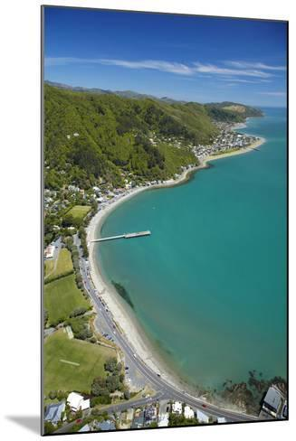 Days Bay, Eastbourne and Wellington Harbour, Wellington, New Zealand-David Wall-Mounted Photographic Print