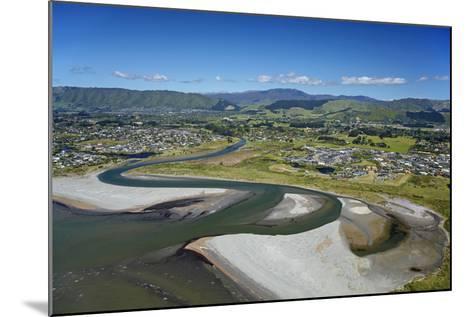 Waikanae River Mouth, Kapiti Coast, Wellington Region, New Zealand-David Wall-Mounted Photographic Print
