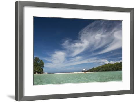Seychelles, Mahe, St. Anne Marine National Park, Moyenne Island-Cindy Miller Hopkins-Framed Art Print