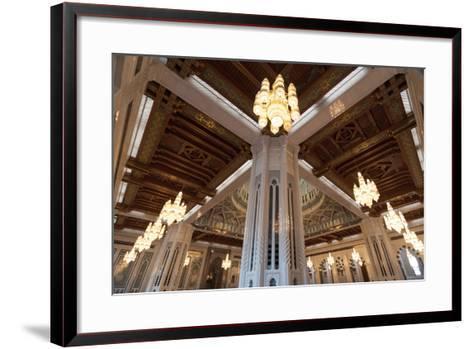 Sultan Qaboos Grand Mosque in Muscat, Oman-Sergio Pitamitz-Framed Art Print