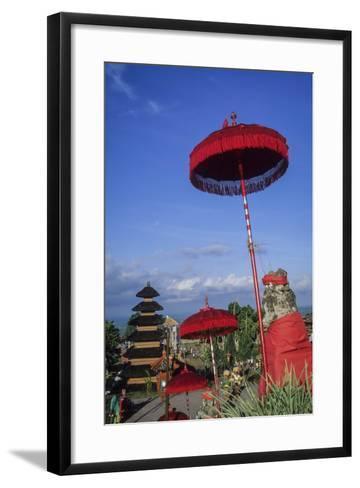 Asia, Indonesia, Bali, Pura Besakih. the 'Mother Temple.'-John & Lisa Merrill-Framed Art Print