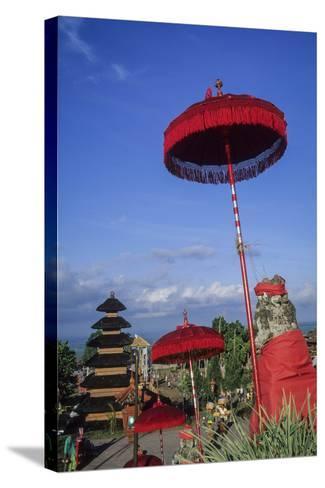 Asia, Indonesia, Bali, Pura Besakih. the 'Mother Temple.'-John & Lisa Merrill-Stretched Canvas Print