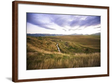 Naseby Is a Quiet Little Town in the Otago Region of New Zealand-Micah Wright-Framed Art Print