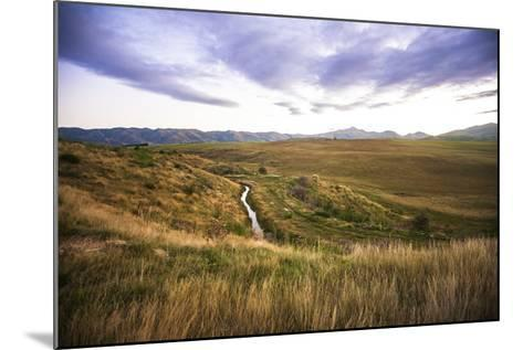 Naseby Is a Quiet Little Town in the Otago Region of New Zealand-Micah Wright-Mounted Photographic Print
