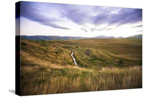 Naseby Is a Quiet Little Town in the Otago Region of New Zealand-Micah Wright-Stretched Canvas Print