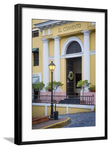 El Convento Hotel in Plazuela de las Monjas, San Juan, Puerto Rico-Brian Jannsen-Framed Art Print