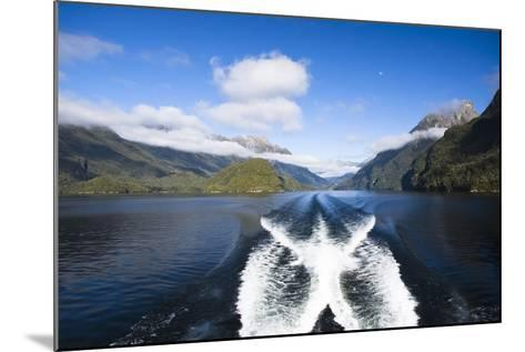 New Zealand's Doubtful Sound, Ferry Crossing Lake Manapouri-Micah Wright-Mounted Photographic Print