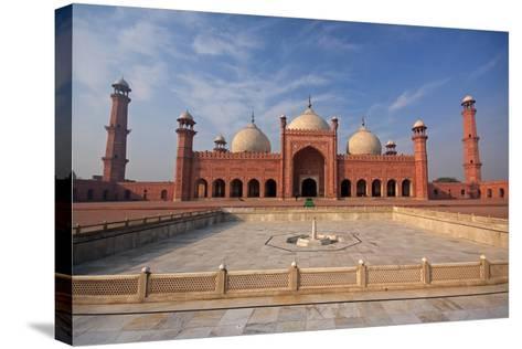 View of Badshahi Masjid, Lahore, Pakistan-Yasir Nisar-Stretched Canvas Print