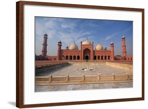 View of Badshahi Masjid, Lahore, Pakistan-Yasir Nisar-Framed Art Print