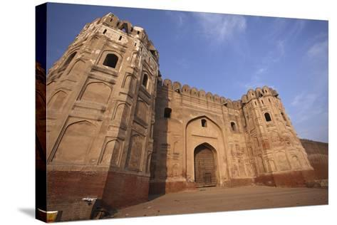Lahore Fort, the Mughal Emperor Fort in Lahore, Pakistan-Yasir Nisar-Stretched Canvas Print