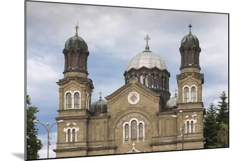Bulgaria, Black Sea Coast, Burgas, Sveti Cyril and Methodius Cathedral-Walter Bibikow-Mounted Photographic Print