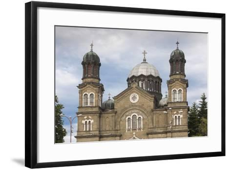 Bulgaria, Black Sea Coast, Burgas, Sveti Cyril and Methodius Cathedral-Walter Bibikow-Framed Art Print