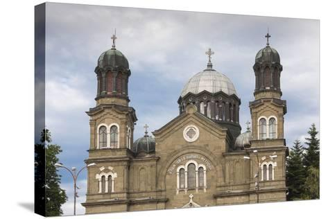 Bulgaria, Black Sea Coast, Burgas, Sveti Cyril and Methodius Cathedral-Walter Bibikow-Stretched Canvas Print