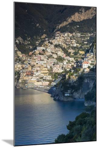 Morning View of Positano, Along the Amalfi Coast, Campania, Italy-Brian Jannsen-Mounted Photographic Print