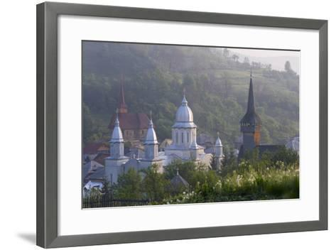 Churches of Botiza, Botiza, Maramures, Romania-Peter Adams-Framed Art Print