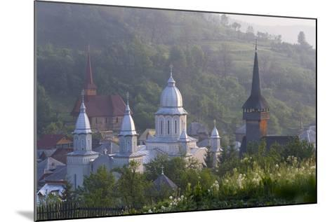 Churches of Botiza, Botiza, Maramures, Romania-Peter Adams-Mounted Photographic Print