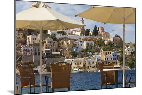 Symi Town, Symi Island, Dodecanese Islands, Greece-Peter Adams-Mounted Photographic Print