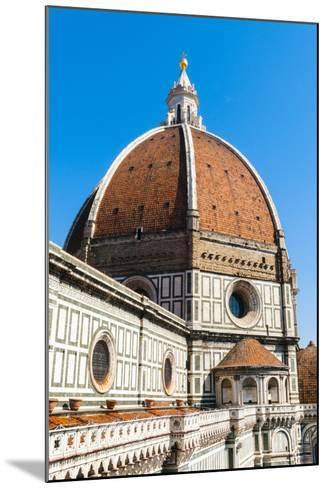 The Dome of the Duomo Santa Maria del Fiore, Florence, Tuscany, Italy-Nico Tondini-Mounted Photographic Print