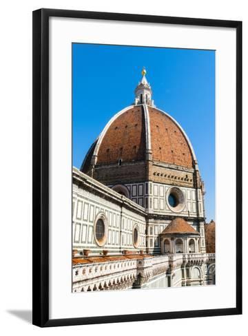 The Dome of the Duomo Santa Maria del Fiore, Florence, Tuscany, Italy-Nico Tondini-Framed Art Print