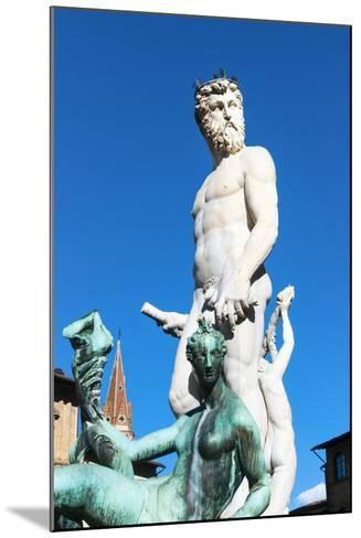 Fountain of Neptune, Piazza Signoria, Firenze, Tuscany, Italy-Nico Tondini-Mounted Photographic Print