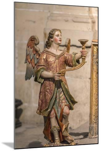 Spain, Salamanca, Religious Candle Holder in Cathedral-Jim Engelbrecht-Mounted Photographic Print