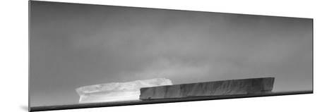 Antarctica, Weddell Sea. Tabular Icebergs in Sunlight and Shadow-Bill Young-Mounted Photographic Print