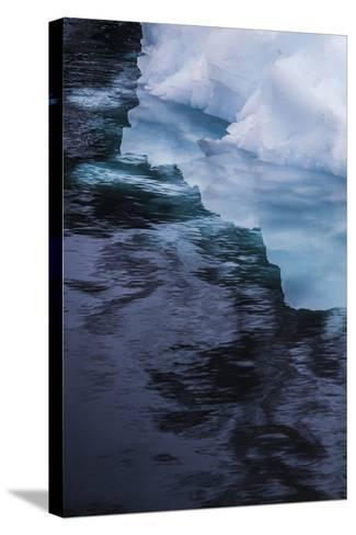 Antarctica. Close-up of an Iceberg-Janet Muir-Stretched Canvas Print
