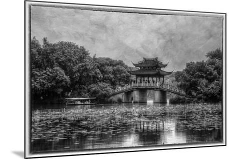 Pagoda Along the Waterfront West Lake, Hangzhou-Darrell Gulin-Mounted Photographic Print