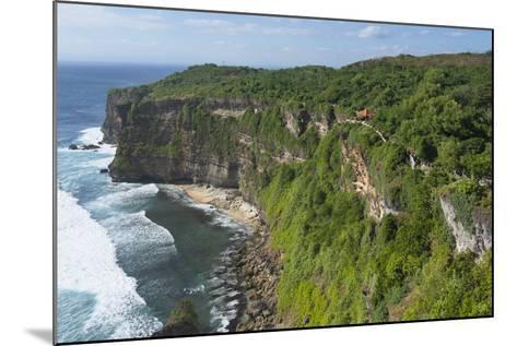 Cliff Along the Ocean, Bali Island, Indonesia-Keren Su-Mounted Photographic Print