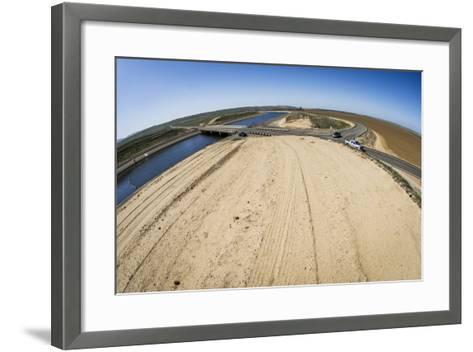 California, Central Valley, San Joaquin Valley, California Aqueduct-Alison Jones-Framed Art Print