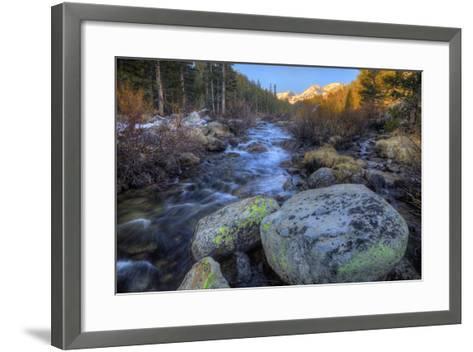 USA, California, Sierra Nevada Range. Rock Creek Landscape-Dennis Flaherty-Framed Art Print