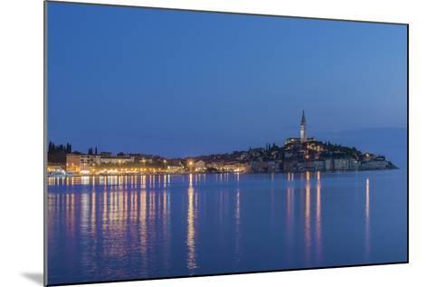 Croatia, Istria, Twilight Rovinj-Rob Tilley-Mounted Photographic Print