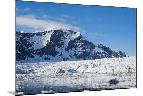 Norway. Svalbard. Hornsund. Burgerbutka. Paier Glacier-Inger Hogstrom-Mounted Photographic Print