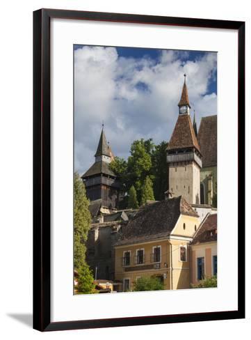 Romania, Transylvania, Biertan, 15th Century Fortified Saxon Church-Walter Bibikow-Framed Art Print