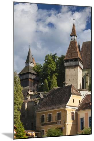 Romania, Transylvania, Biertan, 15th Century Fortified Saxon Church-Walter Bibikow-Mounted Photographic Print