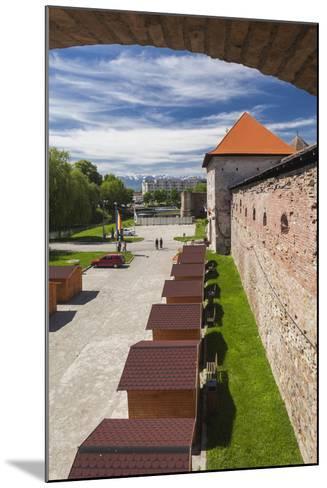 Romania, Transylvania, Fagaras, Fagaras Citadel, Exterior View-Walter Bibikow-Mounted Photographic Print