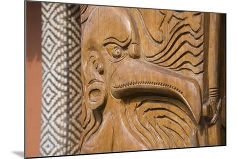 Solomon Islands, Guadalcanal Island. Cultural Center, Wood Carving-Cindy Miller Hopkins-Mounted Photographic Print