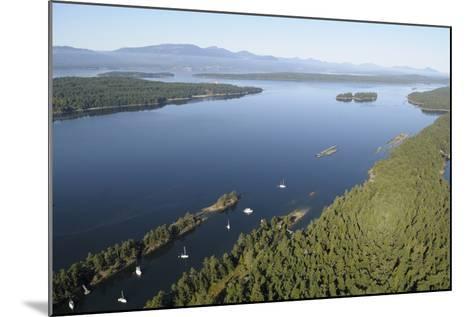 Canada, B.C., Wallace Island. Princess Bay, Wallace Island Marine Pp-Kevin Oke-Mounted Photographic Print