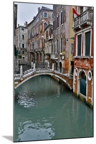 Venice, Italy. Canal with Arched Bridge-Darrell Gulin-Mounted Photographic Print