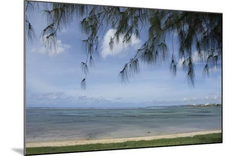 Micronesia, Mariana Islands, Guam, Hagatna. Philippine Sea and Beach-Cindy Miller Hopkins-Mounted Photographic Print