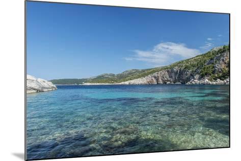 Croatia, Dalmatia, Hvar Island, Secluded Cove Near Milna-Rob Tilley-Mounted Photographic Print