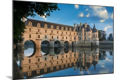 Morning on Chateau Chenonceau, Indre-Et-Loire, Centre, France-Brian Jannsen-Mounted Photographic Print