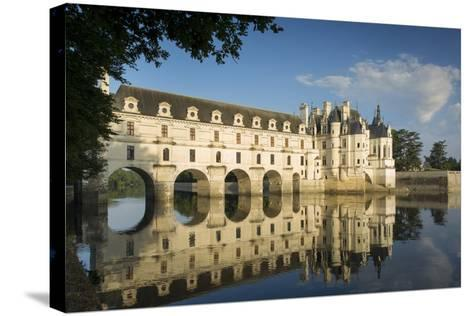 Early Morning at Chateau Chenonceau, Indre-Et-Loire, Centre, France-Brian Jannsen-Stretched Canvas Print