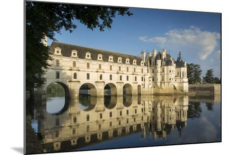 Early Morning at Chateau Chenonceau, Indre-Et-Loire, Centre, France-Brian Jannsen-Mounted Photographic Print