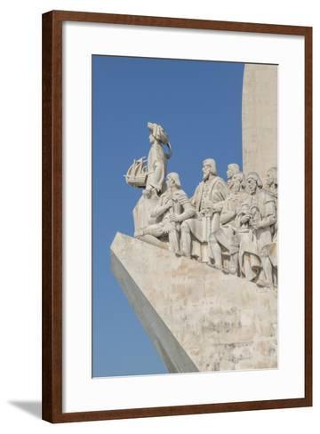 Monument of the Discoveries, Lisbon, Portugal-Jim Engelbrecht-Framed Art Print