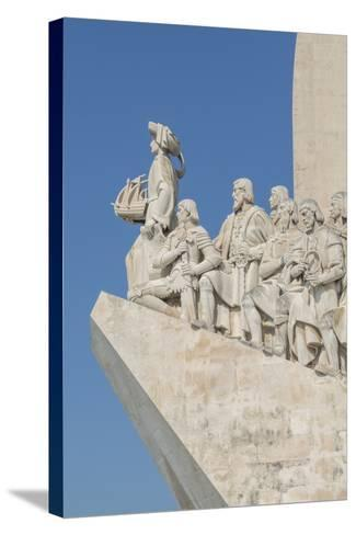 Monument of the Discoveries, Lisbon, Portugal-Jim Engelbrecht-Stretched Canvas Print