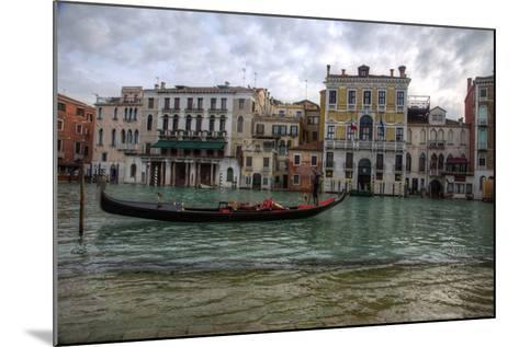 Gondolas Along the Canals of Venice, Italy-Darrell Gulin-Mounted Photographic Print