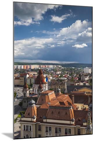 Romania, Transylvania, Targu Mures, the Greco-Catholic Cathedral-Walter Bibikow-Mounted Photographic Print