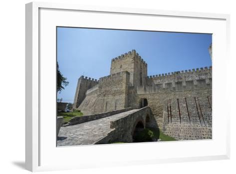 Portugal, Lisbon, St. George Castle Entrance-Jim Engelbrecht-Framed Art Print