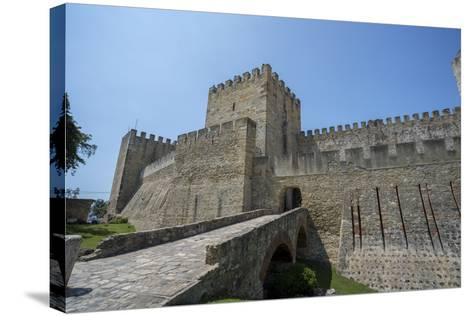 Portugal, Lisbon, St. George Castle Entrance-Jim Engelbrecht-Stretched Canvas Print